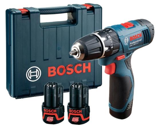 Bosch สว่านกระแทกไร้สาย รุ่น GSB 1080 2LI