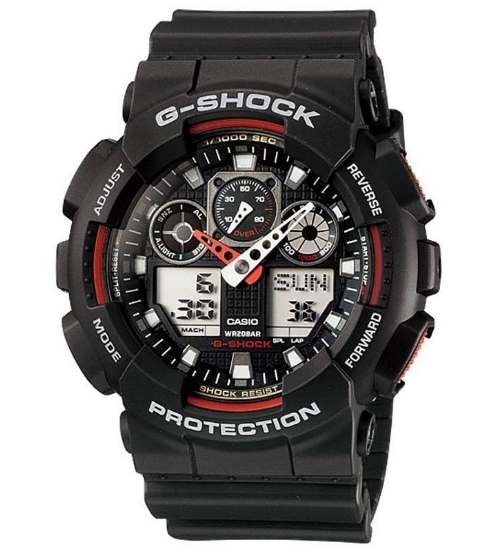 Casio G-Shock นาฬิกา รุ่น GA-100-1A4Dr ราคา