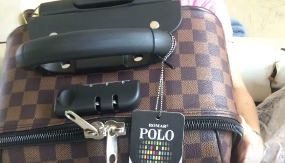 คลิปรีวิว กระเป๋าเดินทาง mz polo